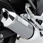 MORIWAKI MX Slip - on muffler [BP]