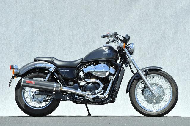 【YAMAMOTO RACING】VT750S SU 2-1 碳纖維全段排氣管 - 「Webike-摩托百貨」