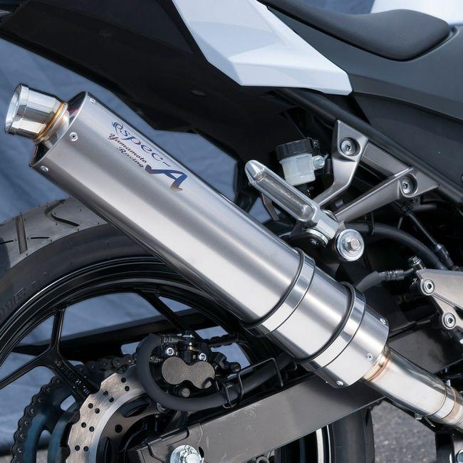SPEC-A 鈦合金 排氣管尾段