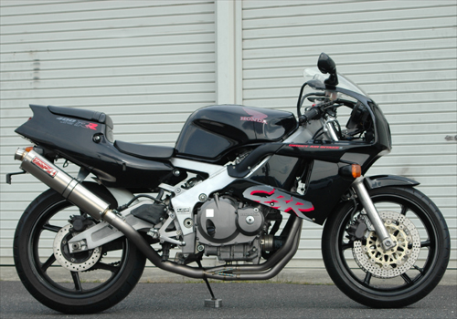 CBR400RR TI4-1 Up type 鈦合金全段排氣管 98×416