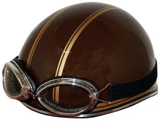 STREET-J  條紋樣式安全帽