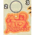 【DAMMTRAX】DAM軟式鑰匙圈