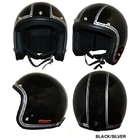【DAMMTRAX】JET-J 條紋樣式四分之三安全帽