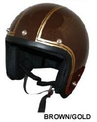 JET-J 條紋樣式四分之三安全帽
