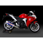 YOSHIMURA machine bendedR - 77 J Rhino Black and EXPORT SPEC Full exhaust muffler