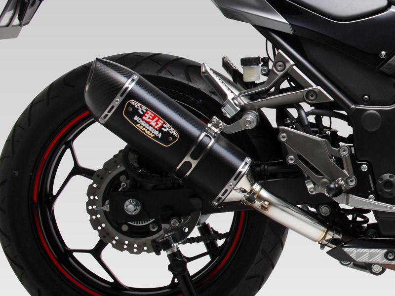 【YOSHIMURA】R-77S CYCLONE EXPORT SPEC 全段排氣管(機械加工彎管)(碳纖維尾蓋)  - 「Webike-摩托百貨」