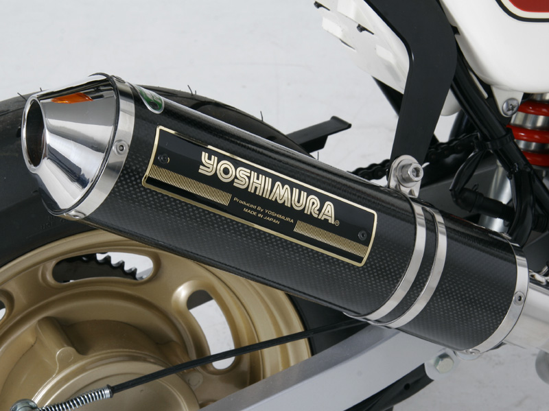 【YOSHIMURA】機械加工彎管鈦合金CYCLONE全段排氣管 - 「Webike-摩托百貨」
