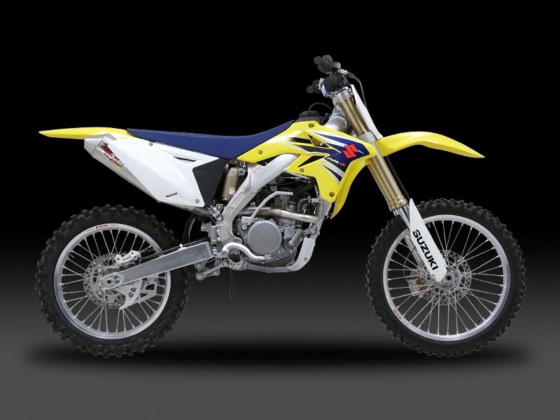 Motocross用 RACING CYCLONE 橢圓型鈦合金全段排氣管