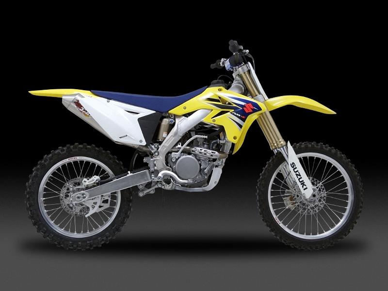 Motocross用 RACING CYCLONE 橢圓型鈦合金排氣管尾段