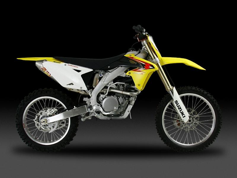 Motocross用 RACING CYCLONE 橢圓型鈦合金全段排氣管(無EXP膨脹室)