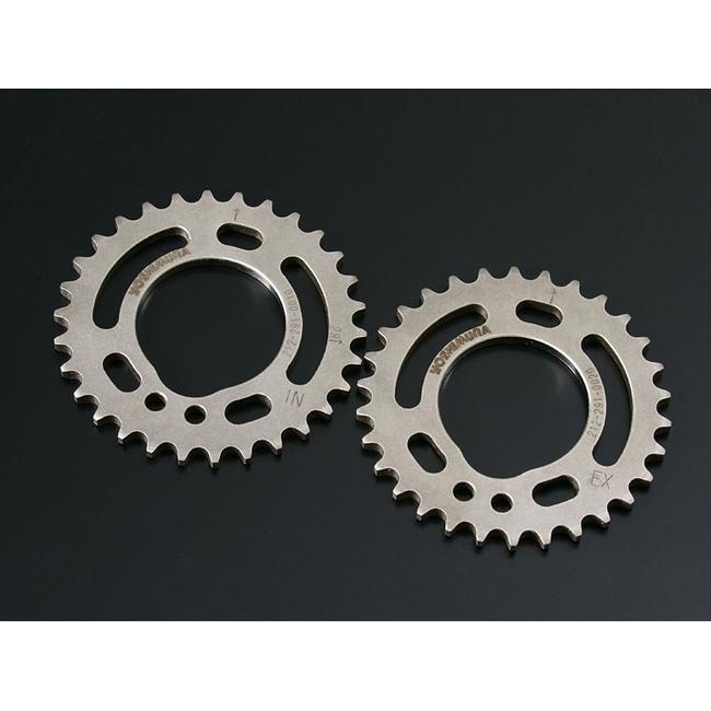 可調整式輕量凸輪軸齒輪組