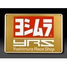 【YOSHIMURA 吉村】美國Yoshimura 金屬銘板 Race Shop