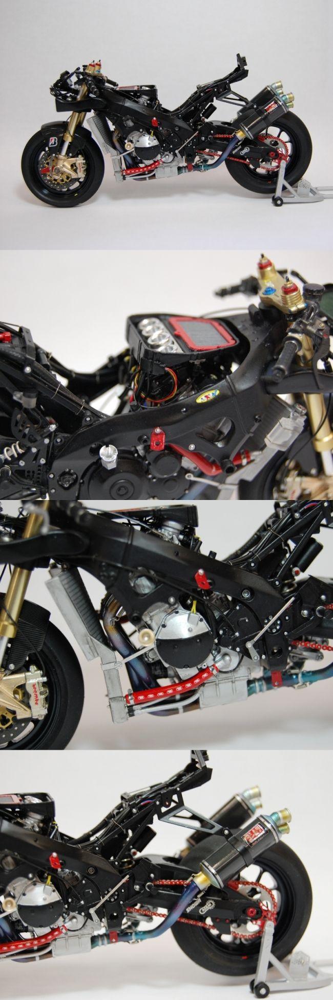 【YOSHIMURA】Yoshimura Suzuki鈴鹿9小時耐力賽 1/12全細部套件 - 「Webike-摩托百貨」