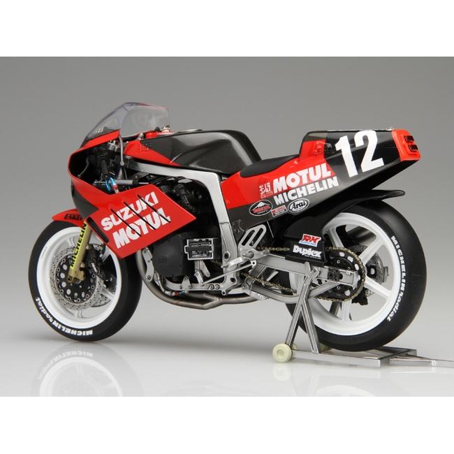 【YOSHIMURA】1/12 BIKESeries NO.2 YOSHIMURA・SEA BASSGSX-R750 1986年鈴鹿9小時耐力賽參戰式樣 - 「Webike-摩托百貨」