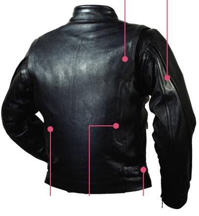 【ROUGH&ROAD】Vented騎士皮革外套 - 「Webike-摩托百貨」