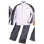 ROUGH & ROAD Dual tex compact rain suit