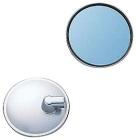 【YAMAHA(日本山葉)】藍色鏡面後視鏡(圓形)
