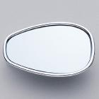 【YAMAHA 日本山葉】橢圓形藍色鏡面後視鏡 2 (左右共通)