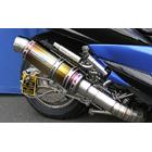 【WirusWin】Premium全段排氣管 鈦合金款式 重低音版附觸媒 (排氣淨化觸媒)