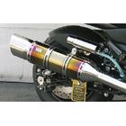 【WirusWin】Exceed鈦合金全段排氣管 重低音版附觸媒 (排氣淨化觸媒)