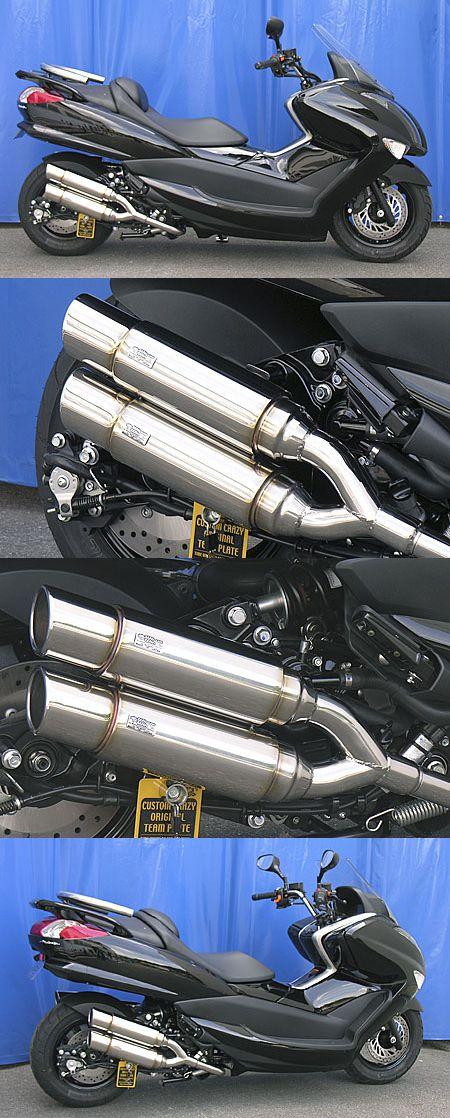 Atomic Twin全段排氣管 Popper型 附觸媒 (排氣淨化觸媒)