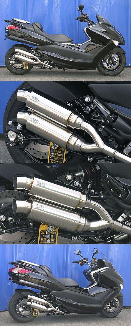 Atomic Twin全段排氣管 Spotrs型