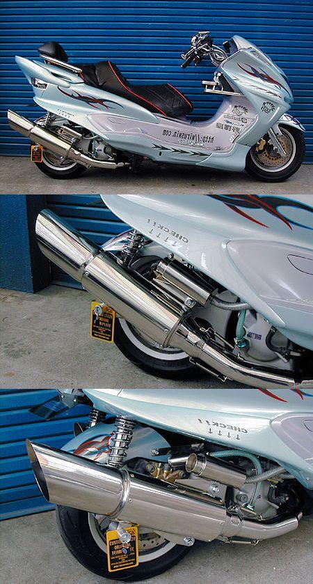 Big Cannon全段排氣管 附觸媒 (排氣淨化觸媒)