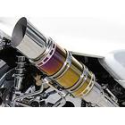 【WirusWin】Beast全段排氣管 TYPE S 燒色重低音版 附觸媒 (排氣淨化觸媒)
