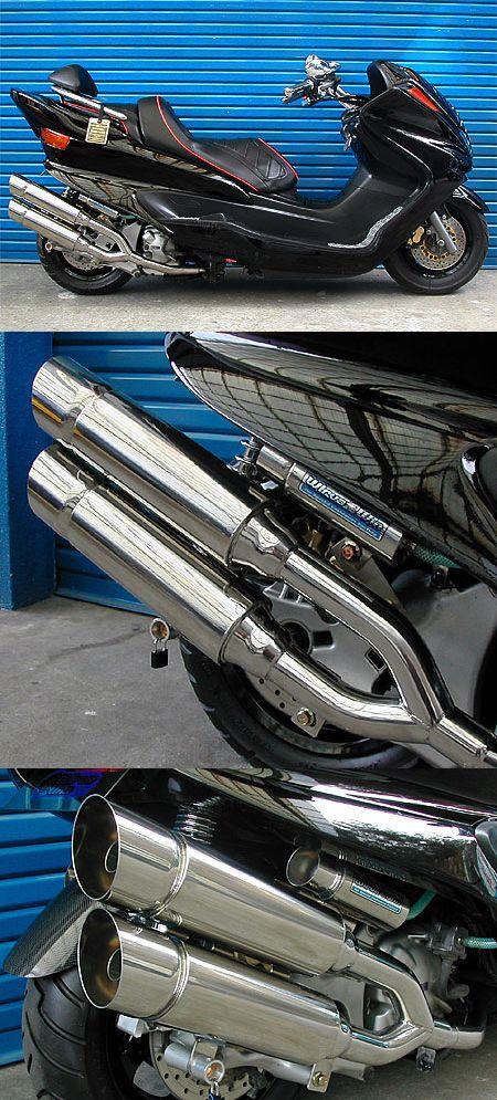 【WirusWin】雙出全段排氣管 Popper型 - 「Webike-摩托百貨」