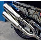 【WirusWin】雙出全段排氣管 Jet型 附觸媒 (排氣淨化觸媒)