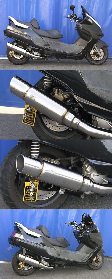 First 全段排氣管 (後輪碟式煞車專用 附觸媒)