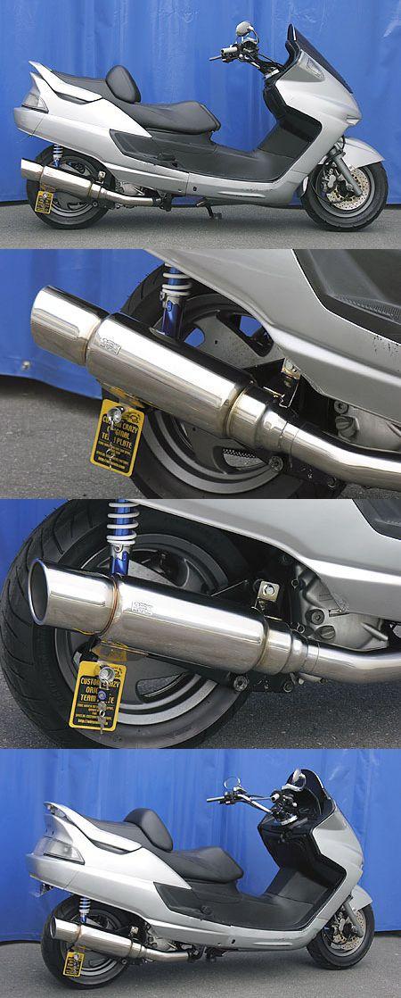 First 全段排氣管 (後輪鼓式煞車專用)