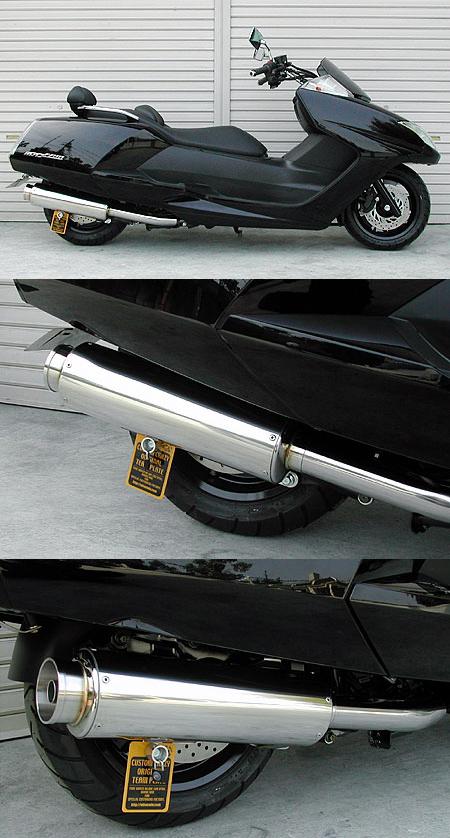 【WirusWin】Big Bazooka全段排氣管 重低音版 - 「Webike-摩托百貨」