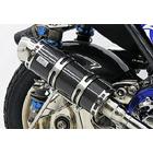 【WirusWin】Royal全段排氣管 Spotrs型 黑色碳纖維款式+加高套件 附觸媒 (排氣淨化觸媒)