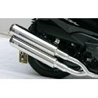 【WirusWin】Stylish雙出全段排氣管 Jet型 附觸媒 (排氣淨化觸媒)