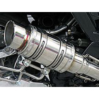 【WirusWin】Atomic短版全段排氣管 Popper型 附觸媒 (排氣淨化觸媒)