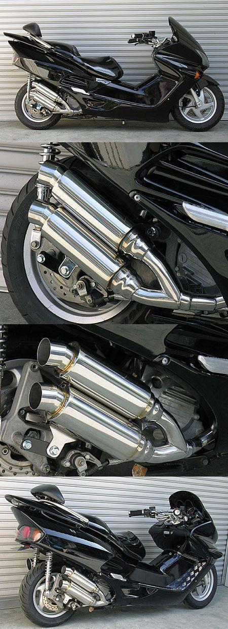 Atomic Twin全段排氣管 Spotrs型 附觸媒 (排氣淨化觸媒)