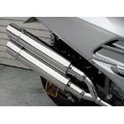 【WirusWin】Stylish雙出全段排氣管 Popper型 附觸媒 (排氣淨化觸媒)