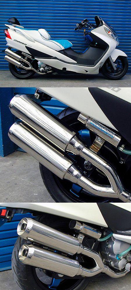 雙出全段排氣管 Jet型 附觸媒 (排氣淨化觸媒)