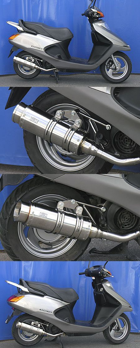 Royal全段排氣管 火箭筒型 附觸媒 (排氣淨化觸媒)