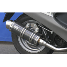 【WirusWin】Royal全段排氣管 Spotrs型 黑色碳纖維款式+加高套件
