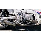 WirusWin Trucker Rod Silencer Exhaust