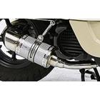 【WirusWin】Tiger auto聯名款 Fat Bomber全段排氣管 Spotrs型 銀色碳纖維款式