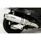 【WirusWin】Ultimate全段排氣管 銀色碳纖維款式 火箭筒型