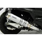 【WirusWin】Ultimate全段排氣管 銀色碳纖維款式 Popper型