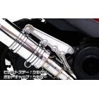 【WirusWin】Anniversary 切削加工排氣管専用支架 (銀色版)