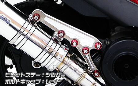 【WirusWin】Anniversary 切削加工排氣管専用支架 (銀色版) - 「Webike-摩托百貨」