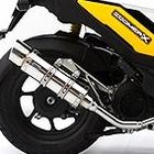 【WirusWin】Royal全段排氣管 Popper型 黑色碳纖維款式