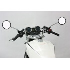 HURRICANE Clip-on Handlebars Chromium Plating Version