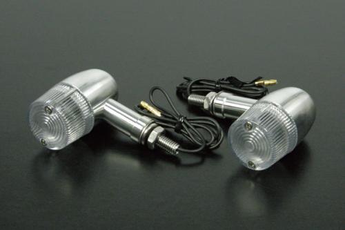 鋁合金切削加工方向燈組 (C Type/長/燻黑)